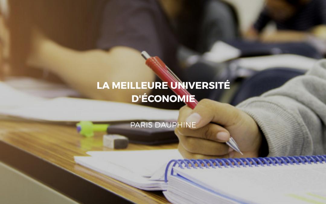 etude Paris Dauphine